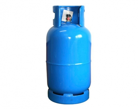 Cilindro a gas uso dom stico 15 kg azul kissu for Valor cilindro de gas